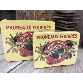 Les pruneaux fourrés à la crème de pruneaux