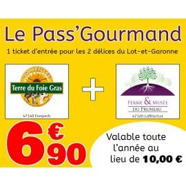 Pass' Gourmand avec le Musée du Foie Gras