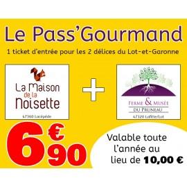 Pass' Gourmand avec la Maison de la Noisette