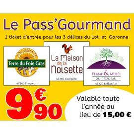 Pass' Gourmand avec la Maison de la Noisette et le Musée du Foie Gras