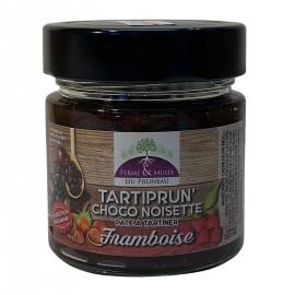 Pâte à tartiner : Tartiprun'choco Noisette Framboise