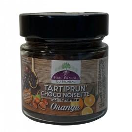 Pâte à tartiner : Tartiprun'choco Noisette Orange