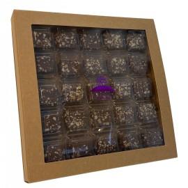 Pavés agenais chocolat caramel
