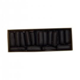Chocolats noirs fourrés à la vieille prune