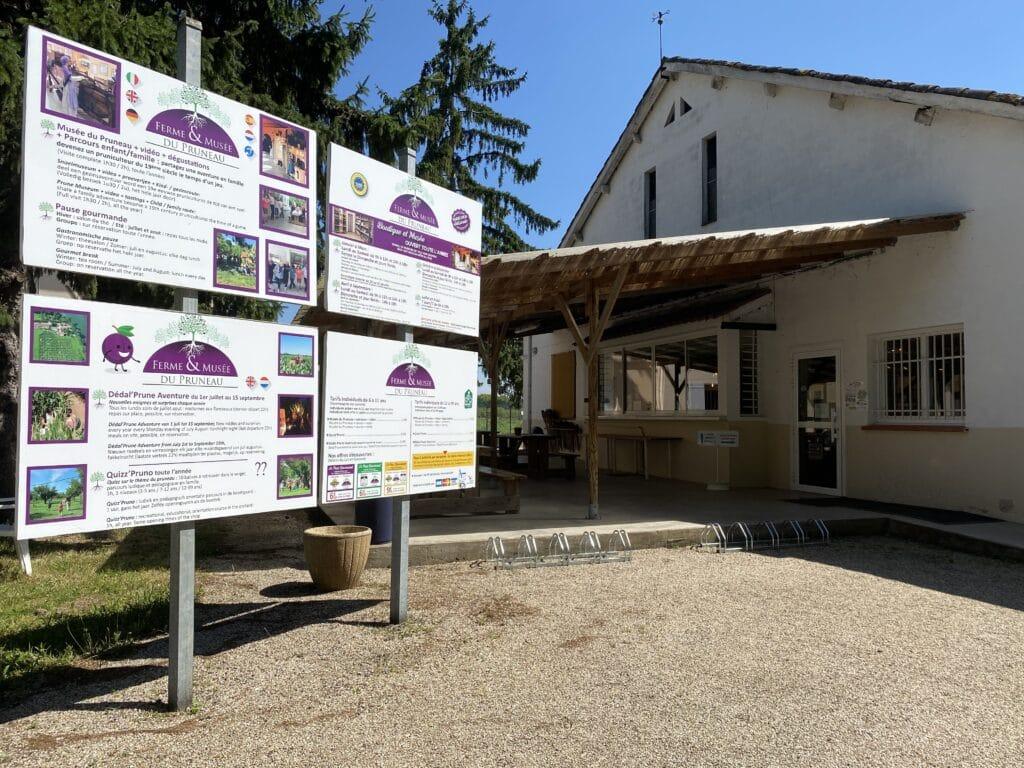 Accueil de la Ferme et Musée du Pruneau
